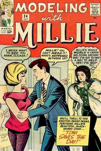 Cover Thumbnail for Modeling with Millie (Marvel, 1963 series) #34