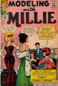 Cover Thumbnail for Modeling with Millie (Marvel, 1963 series) #35