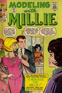 Cover Thumbnail for Modeling with Millie (Marvel, 1963 series) #37