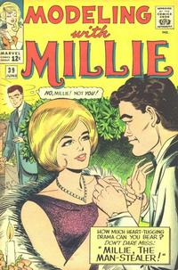 Cover Thumbnail for Modeling with Millie (Marvel, 1963 series) #39