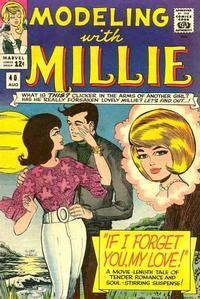 Cover Thumbnail for Modeling with Millie (Marvel, 1963 series) #40