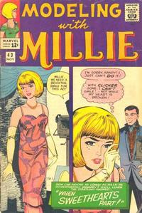 Cover Thumbnail for Modeling with Millie (Marvel, 1963 series) #43