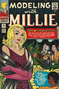 Cover Thumbnail for Modeling with Millie (Marvel, 1963 series) #48