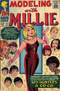 Cover Thumbnail for Modeling with Millie (Marvel, 1963 series) #51