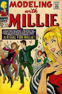 Cover Thumbnail for Modeling with Millie (Marvel, 1963 series) #53