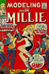 Cover Thumbnail for Modeling with Millie (Marvel, 1963 series) #54