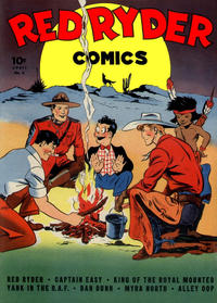Cover Thumbnail for Red Ryder Comics (Dell, 1942 series) #6