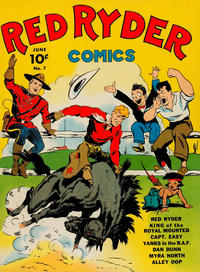 Cover Thumbnail for Red Ryder Comics (Dell, 1942 series) #7
