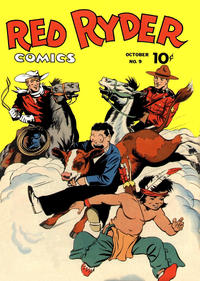 Cover Thumbnail for Red Ryder Comics (Dell, 1942 series) #9