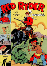 Cover Thumbnail for Red Ryder Comics (Dell, 1942 series) #14