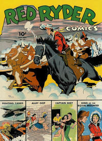 Cover Thumbnail for Red Ryder Comics (Dell, 1942 series) #16