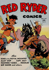 Cover Thumbnail for Red Ryder Comics (Dell, 1942 series) #21