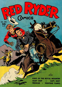Cover Thumbnail for Red Ryder Comics (Dell, 1942 series) #23