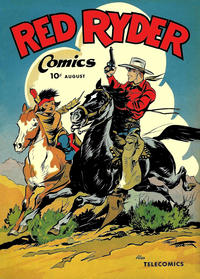 Cover Thumbnail for Red Ryder Comics (Dell, 1942 series) #37