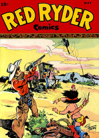 Cover Thumbnail for Red Ryder Comics (Dell, 1942 series) #46