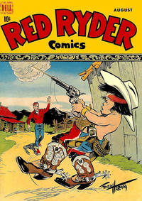 Cover Thumbnail for Red Ryder Comics (Dell, 1942 series) #61