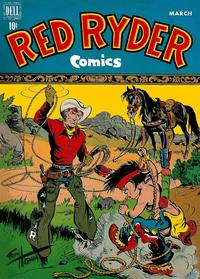 Cover Thumbnail for Red Ryder Comics (Dell, 1942 series) #68