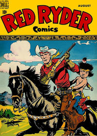 Cover Thumbnail for Red Ryder Comics (Dell, 1942 series) #73