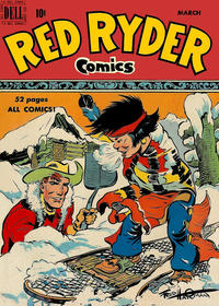 Cover Thumbnail for Red Ryder Comics (Dell, 1942 series) #80