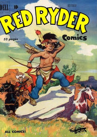 Cover Thumbnail for Red Ryder Comics (Dell, 1942 series) #87