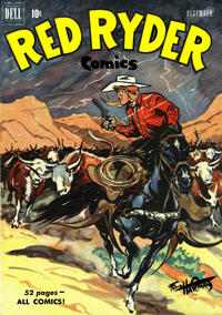 Cover Thumbnail for Red Ryder Comics (Dell, 1942 series) #89