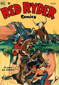 Cover Thumbnail for Red Ryder Comics (Dell, 1942 series) #90