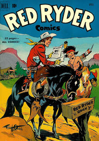 Cover Thumbnail for Red Ryder Comics (Dell, 1942 series) #93
