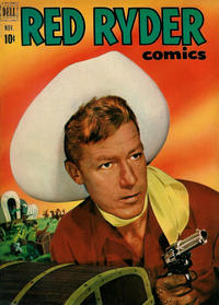 Cover Thumbnail for Red Ryder Comics (Dell, 1942 series) #100
