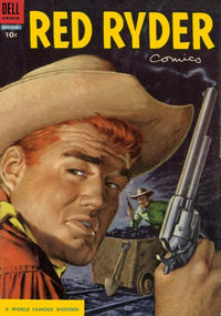Cover Thumbnail for Red Ryder Comics (Dell, 1942 series) #134