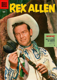 Cover Thumbnail for Rex Allen (Dell, 1951 series) #18