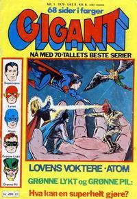 Cover Thumbnail for Gigant (Semic, 1977 series) #1/1979