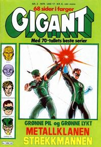 Cover Thumbnail for Gigant (Semic, 1977 series) #2/1979