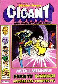 Cover Thumbnail for Gigant (Semic, 1977 series) #6/1979