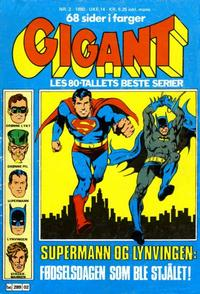 Cover Thumbnail for Gigant (Semic, 1977 series) #2/1980