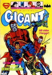 Cover Thumbnail for Gigant (Semic, 1977 series) #2/1981