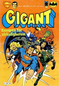 Cover Thumbnail for Gigant (Semic, 1977 series) #4/1981