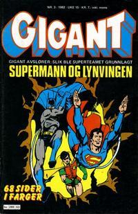 Cover Thumbnail for Gigant (Semic, 1977 series) #3/1982