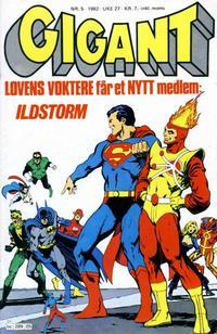 Cover Thumbnail for Gigant (Semic, 1977 series) #5/1982
