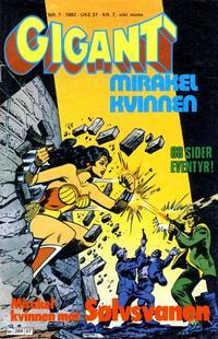Cover Thumbnail for Gigant (Semic, 1977 series) #7/1982