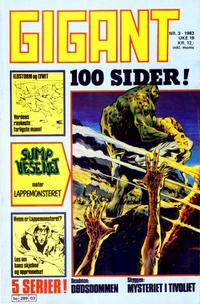 Cover Thumbnail for Gigant (Semic, 1977 series) #3/1983