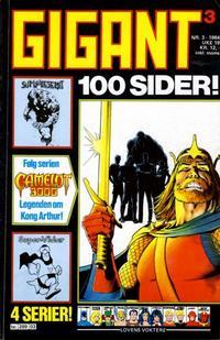 Cover Thumbnail for Gigant (Semic, 1977 series) #3/1984