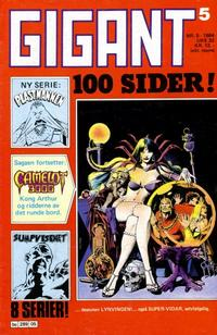 Cover Thumbnail for Gigant (Semic, 1977 series) #5/1984