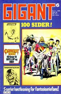 Cover Thumbnail for Gigant (Semic, 1977 series) #6/1984