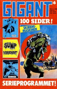 Cover Thumbnail for Gigant (Semic, 1977 series) #6/1985