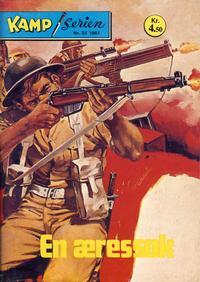 Cover Thumbnail for Kamp-serien (Serieforlaget / Se-Bladene / Stabenfeldt, 1964 series) #33/1981