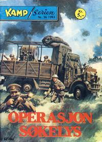 Cover Thumbnail for Kamp-serien (Serieforlaget / Se-Bladene / Stabenfeldt, 1964 series) #36/1983