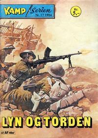 Cover Thumbnail for Kamp-serien (Serieforlaget / Se-Bladene / Stabenfeldt, 1964 series) #17/1984