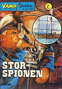 Cover Thumbnail for Kamp-serien (Serieforlaget / Se-Bladene / Stabenfeldt, 1964 series) #43/1984