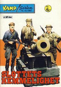 Cover Thumbnail for Kamp-serien (Serieforlaget / Se-Bladene / Stabenfeldt, 1964 series) #42/1985