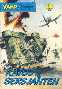 Cover Thumbnail for Kamp-serien (Serieforlaget / Se-Bladene / Stabenfeldt, 1964 series) #45/1985